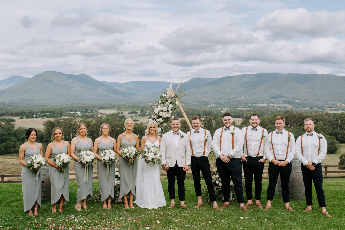 Ellie + Brad Riverstone Estate Wedding